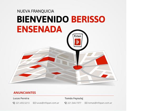 Bienvenido Berisso Ensenada!