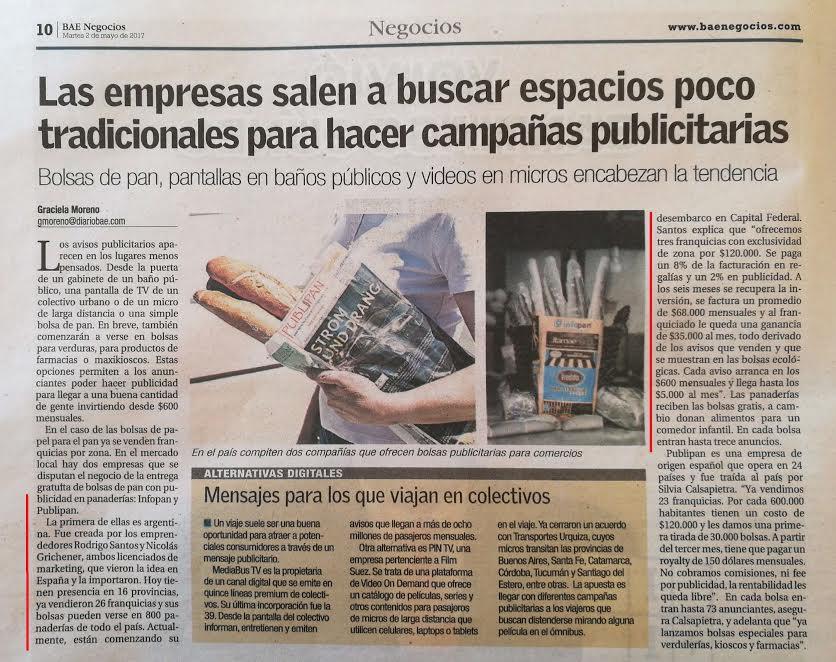 Las empresas salen a buscar espacios poco tradicionales para hacer campañas publicitarias | Diario BAE